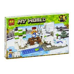"Конструктор ""My World Minecraft: зимняя рыбалка"", 215 дет  scs"