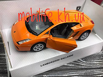 Машинка металлическая Lamborghini Gallardo 12см/Kinsmart/Высокое Качество/