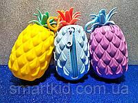 Брелок-гаманець ананас, фото 2