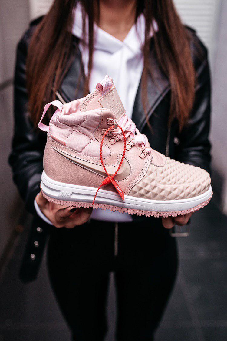 Ботинки ботильоны женские Nike Duckboots 17 Pink демисезонные