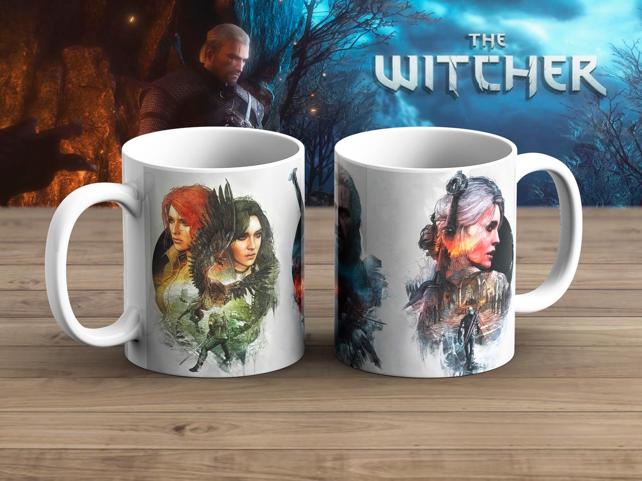 Чашка Девушки и Геральт Ведьмак / Тhe Witcher