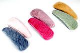 Заколки хлопалки для волос c мехом (6 шт), фото 3