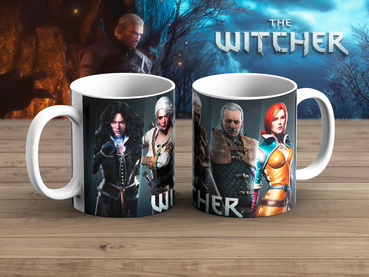 Чашка Герои WH Ведьмак / Тhe Witcher