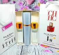 Подарочный набор духов 3шт*15 мл, аналог Carolina Herrera C.H. Women с феромонами