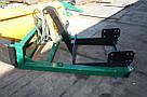 Погрузчик на трактор МТЗ, ЮМЗ, Т 40 Dellif Strong 1800 с отвалом снегоуборочным, фото 3