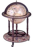 Глобус-бар напольный коричневый Зодиак 42001N