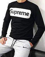 Мужской свитшот (черный,черный,серый,белый)