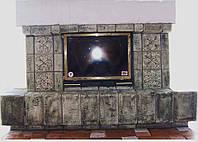 Плитка-декор каминный