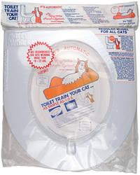Vo-Toys НАКЛАДКА НА УНИТАЗ для приучения к туалету кота