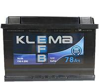 Аккумулятор Klema EFB 6СТ 78 A/ч 750 А
