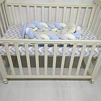Кокон – гнездышко, коса-позиционер для новорожденных девочек и мальчиков Тм Миля