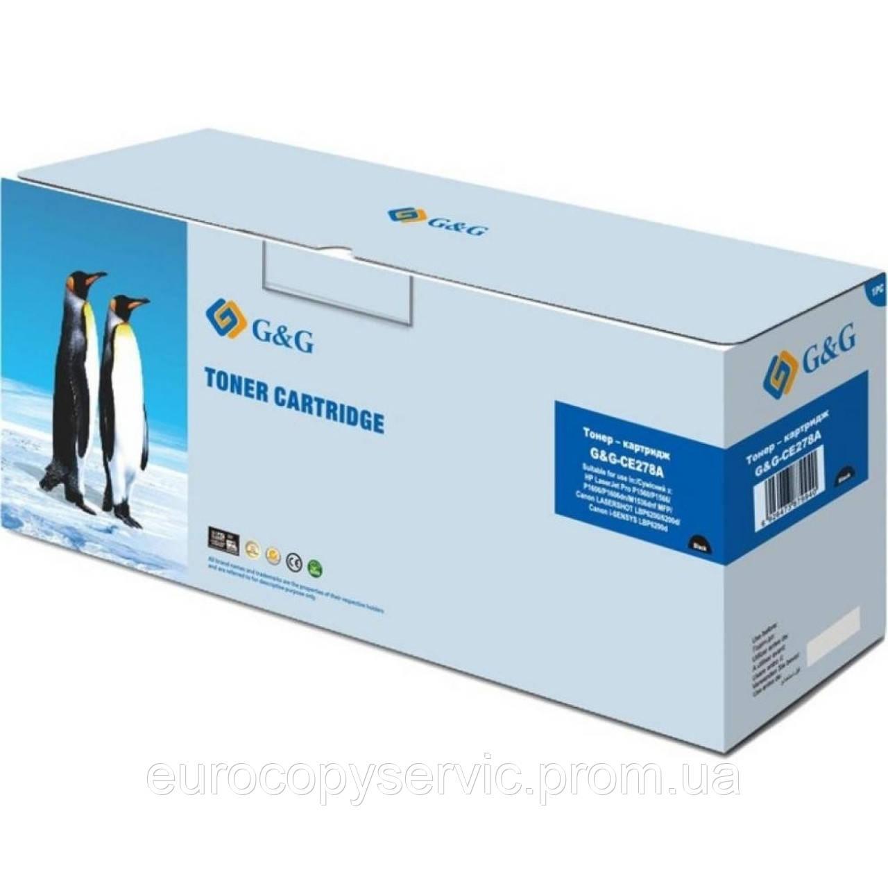 Картридж G&G для HP LJ P1566/1606DN/M1536dnf- G&G-728/G&G-726 Black (2100 стр)