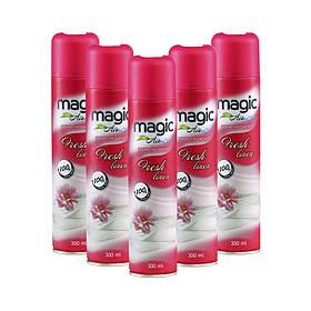 Освіжувач повітря ручної Magic Air Fresh linen Свіжість білизни 300 мл 24 шт / ящ