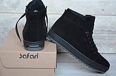 """Зимние кроссовки, ботинки на меху Hudromax """"Черные"""", фото 3"""