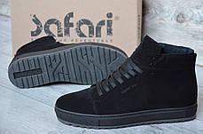 """Зимние кроссовки, ботинки на меху Hudromax """"Черные"""", фото 2"""