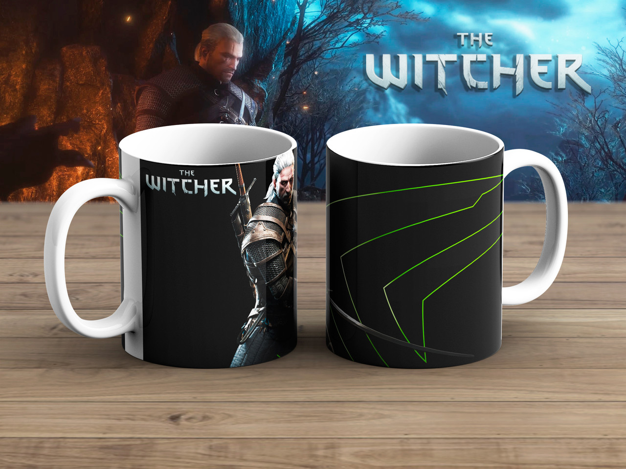 Чашка стойка Ведьмак / Тhe Witcher