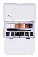 Набор акварельных красок REMBRANDT Opaque White&Mixing 12 кювет + кисть в металлическом пенале 05838694