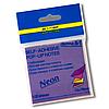 Стикеры для заметок 76 x 76мм неон BM.2323-97 Buromax