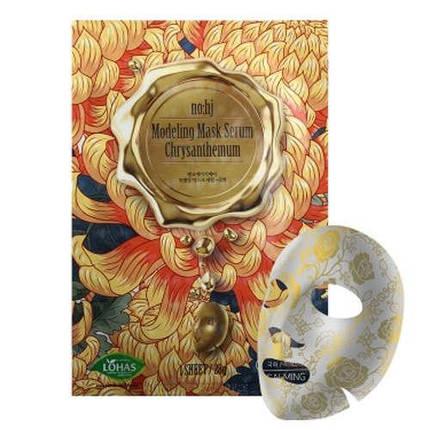 Тканевая  маскас экстрактом хризантемы NOHJ Modeling Mask Serum Chrysanthemum, фото 2