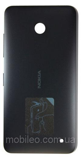 Задняя крышка Nokia 630 Lumia Dual Sim | 635 | 636 | 638 чёрная