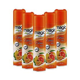 Освіжувач повітря ручної Magic Air Citrus mix 300 мл Цитрусовий мікс 24 шт / ящ