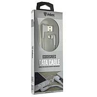 Кабель Inkax CK-48 USB - Iphone 5/6/7  Lightning 1m Угловой