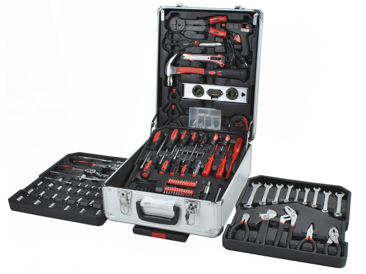 Уцінка!!!Валіза з інструментами 187 елементів набір інструментів ключів набор ключей