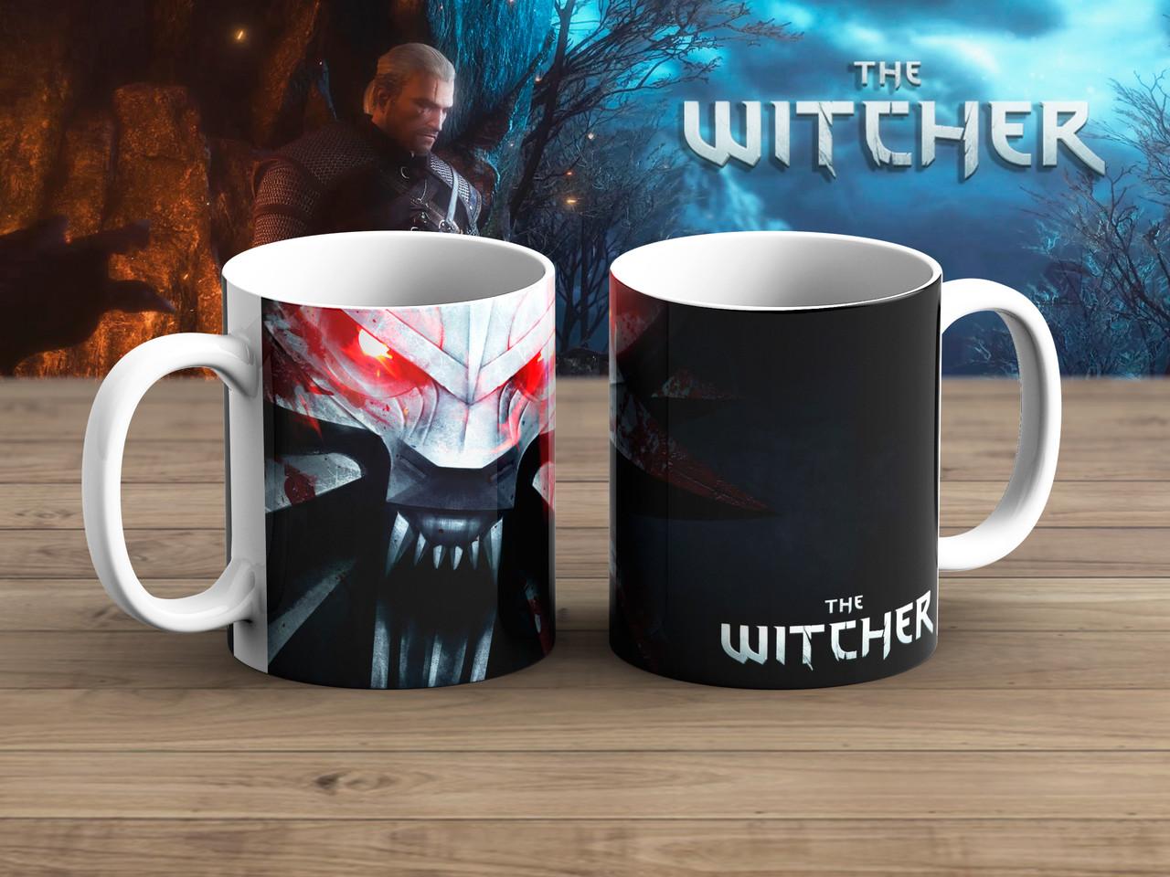 Чашка Кулон на черном Ведьмак / Тhe Witcher