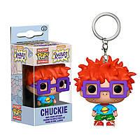 Фигурка брелок Funko Pop Ох уж эти детки Чаки Финстер Rugrats Chuckie 4 см Cartoon Trinket R C