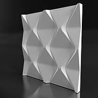 Декоративні гіпсові панелі 3D Gipster «Falls», фото 4