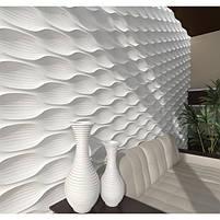 Декоративні гіпсові панелі 3D Gipster «Moon», фото 4