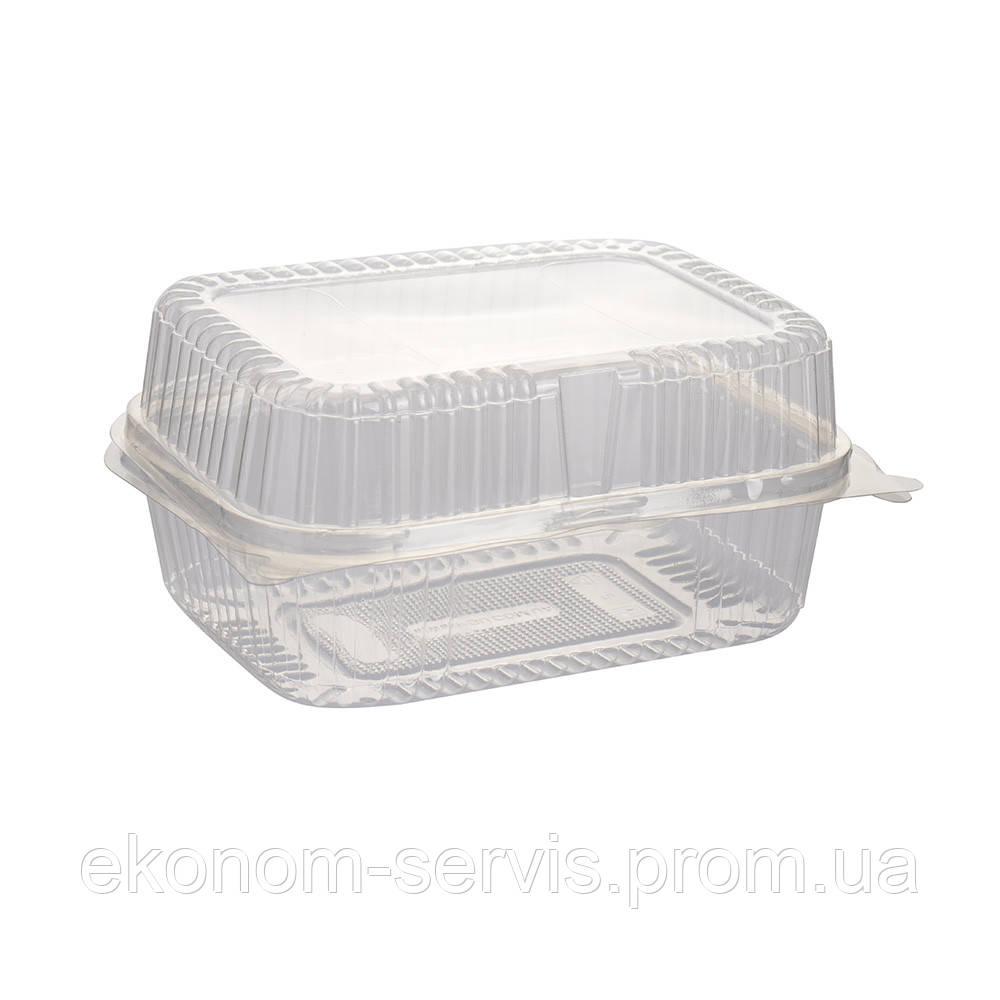 Контейнер пластиковый ПГУ 1392мл.13*17*8 см, 100шт