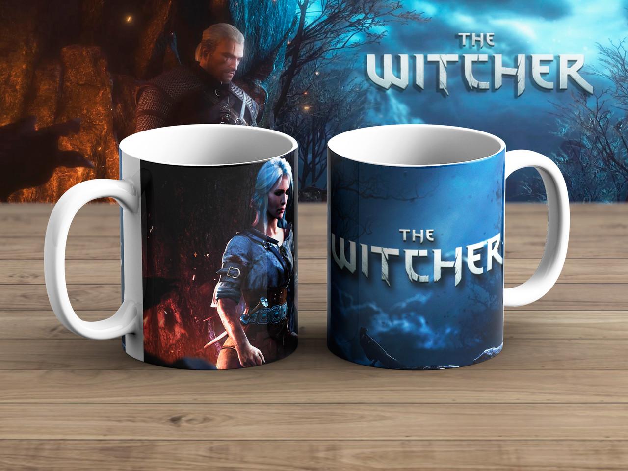 Чашка спутница Ведьмак / Тhe Witcher