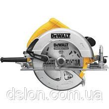 Пила циркулярная DeWALT DWE575K, ручная, 1600Вт, диск 190х30 мм, пропил 67мм, паралел. упор, вес 4 кг.