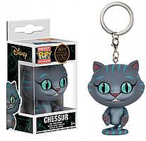 Фигурка брелок Funko Pop Алиса в стране чудес Чеширский кот Cheshire Cat 4 см Movies Trinket AW CC