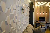 Декоративні гіпсові панелі 3D Gipster «Alvarium», фото 2