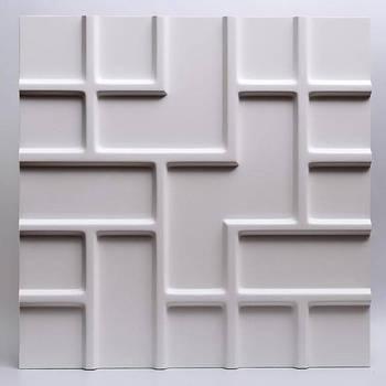 Декоративные гипсовые 3D панели Gipster «Лабиринт»