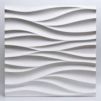 Декоративні гіпсові панелі 3D Gipster «Потік»
