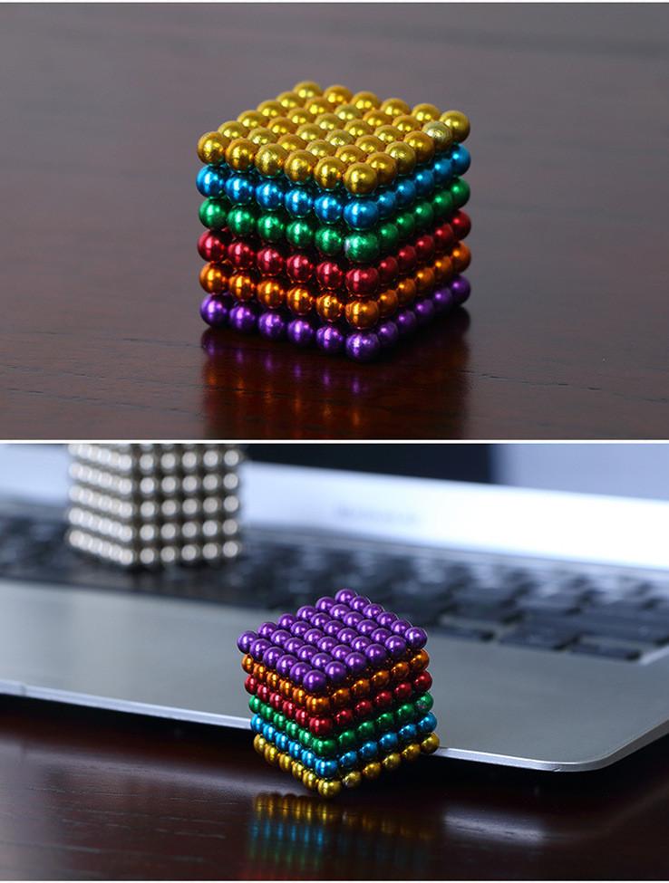 Неокуб кольоровий, 216 шт 5 мм, Неокуб Радужный Neocube
