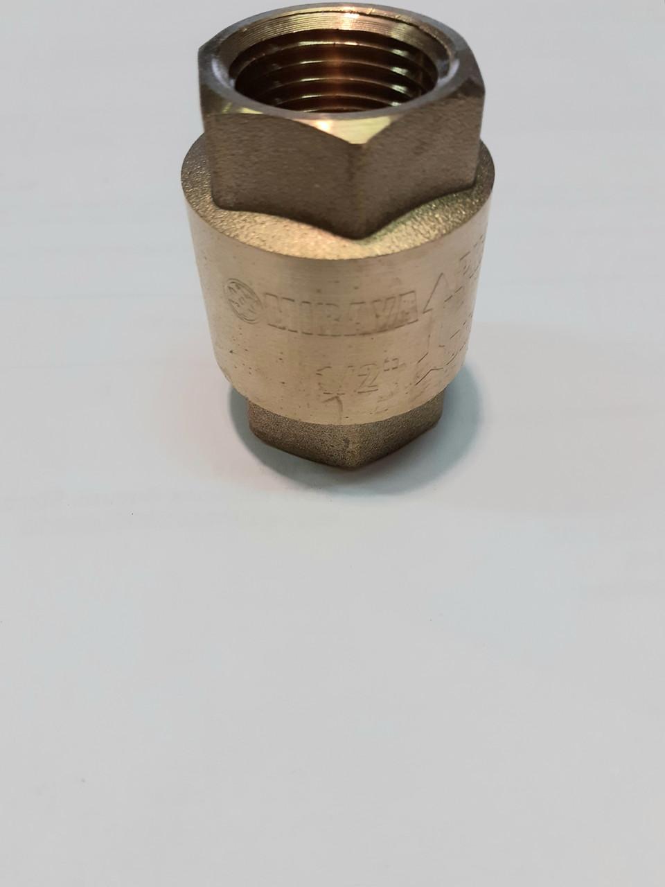 Обратный клапан 1/2 дюйм  MIRAYA для воды