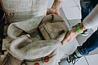 Кофе свежеобжаренный в зернах арабика Бразилия Сантос, фото 3