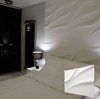 """Гипсовая 3d панель для стен """"Лотос"""" (декоративная 3д панель для стен)"""