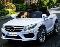 Детский электромобиль M 3981 EBLR-1 Mercedes с EVA колесами, белый