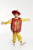 Детский карнавальный костюм для мальчика «Фонарик»  110-120 см, красный, фото 1