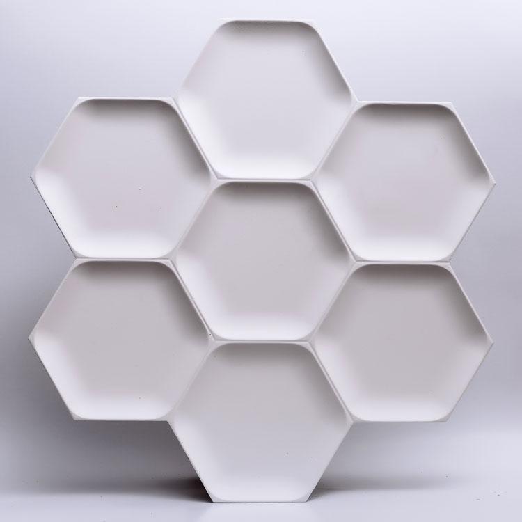 Декоративные гипсовые 3D панели Gipster «Honey»