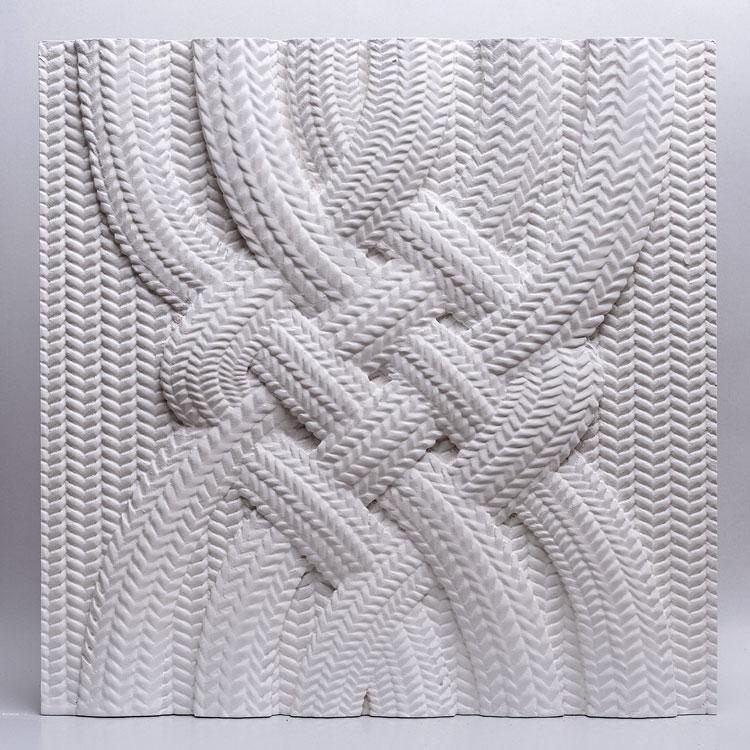 Декоративні гіпсові панелі 3D Gipster «Twist»