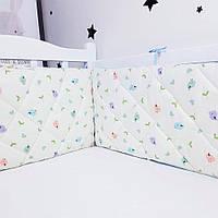 Захист у ліжечко HappyLittleFox Birds, фото 1