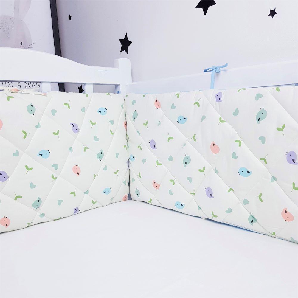 Захист у ліжечко HappyLittleFox Birds