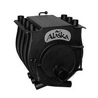 """Печь калориферная """"Аляска"""" для дома и дачи ПК-7В ( с варочной поверхностью)"""
