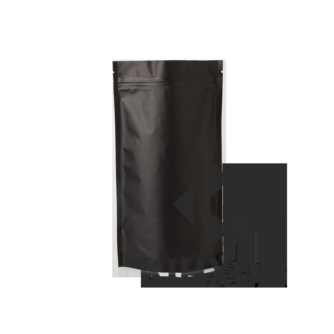 Пакет Дой-Пак чорний 180*280 дно (45+45)